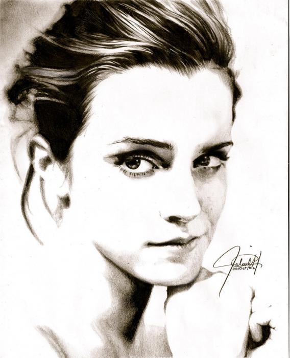 Emma Watson par ScorpionDraws